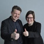 Anna Lönnroth ja Vesa Ristikangas