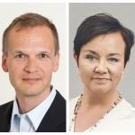 Kati Järvinen ja Kimmo Vättö