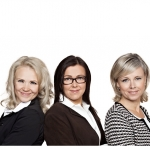 Pia Aalto, Minna Kurttila, Mari Rantala